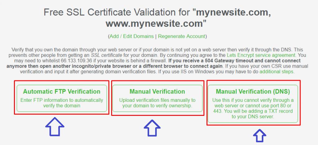 SSL-Domain-Verification